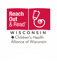 Large Reach Out and Read Wisconsin logo