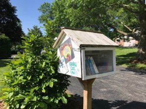 Little Free Library near Milwaukee, WI