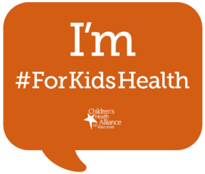 For Kids Health message bubble