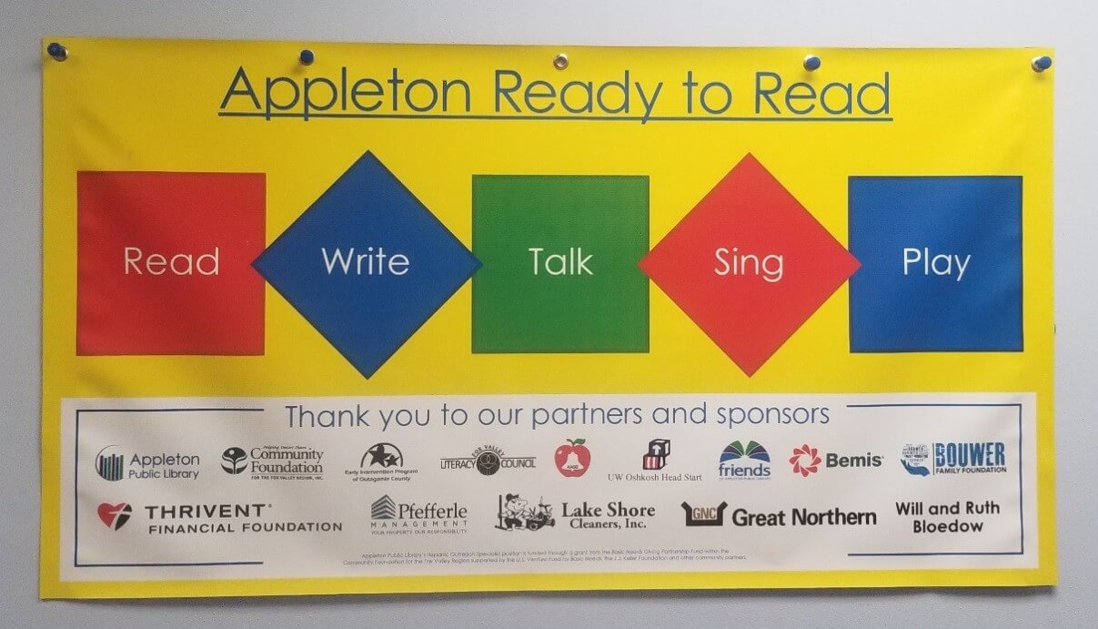 Appleton Ready to Read banner