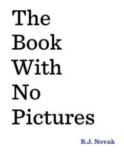 the book with no pictures book cover